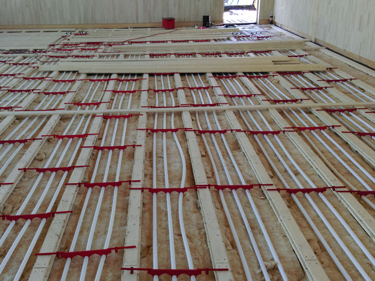 Heizungsbau Fußbodenheizung